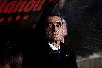 FC Barcelona's coach Ernesto Valverde during La Liga match between Rayo Vallecano and FC Barcelona at Vallecas Stadium in Madrid, Spain. November 03, 2018. (ALTERPHOTOS/A. Perez Meca)<br /> Liga Campionato Spagna 2018/2019<br /> Foto Alterphotos / Insidefoto <br /> ITALY ONLY