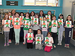 St Patricks Day Art Class at Library 2015