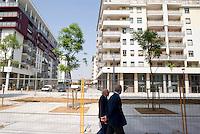 milano, nuovo quartiere rogoredo - santa giulia, periferia sud-est --- milan, new district rogoredo - santa giulia, south-east periphery