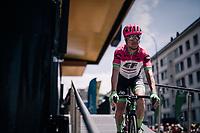 Simon Clarke (AUS/Cannondale-Drapac)<br /> <br /> Stage 5: Grenoble > Valmorel (130km)<br /> 70th Critérium du Dauphiné 2018 (2.UWT)