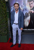 Tom Felton @ the VIP opening for The Wizarding World of Harry Potter held @ the Universal Studiio Hollywood.<br /> April 5, 2016