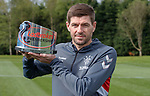 03.05.2019 Rangers awards: Steven Gerrard with manager of the month award