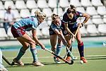 Mannheim, Germany, September 13: During the 1. Bundesliga women fieldhockey match between Mannheimer HC and UHC Hamburg on September 13, 2020 at Am Neckarkanal in Mannheim, Germany. Final score 1-1. (Copyright Dirk Markgraf / www.265-images.com) ***