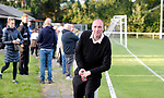 Pix Magi Haroun 26.08.2020<br /> <br /> REPORTER: Gideon Brooks:<br /> Pix shows the first crowd of 150 fans let in to watch Daisy Hill FC v Bury FC. Also Chairman of Bury Chris Murray enjoying his 1st match as Chairman