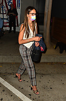 Jordana Brewster Spotted At Craig's In West Hollywood