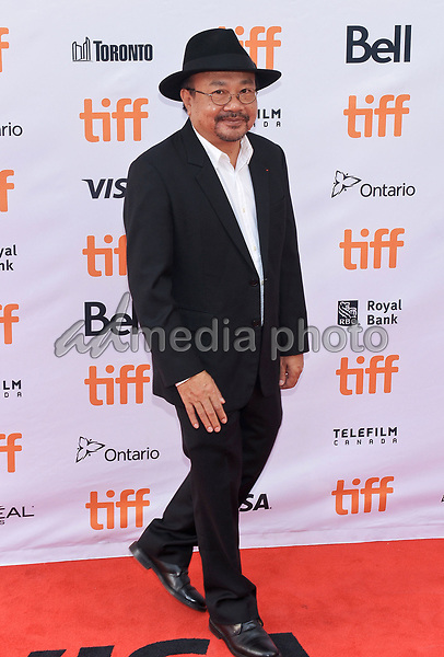 """11 September 2017 - Toronto, Ontario Canada - Rithy Panh. 2017 Toronto International Film Festival - """"First They Killed My Father"""" Premiere held at Princess of Wales Theatre. Photo Credit: Brent Perniac/AdMedia"""