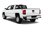 Car pictures of rear three quarter view of 2018 Chevrolet Silverado-1500 LT-Z71-Crew 4 Door Pick-up Angular Rear