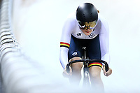 Ellesse Andrews  competes in the Women Elite Sprint during the 2020 Vantage Elite and U19 Track Cycling National Championships at the Avantidrome in Cambridge, New Zealand on Friday, 24 January 2020. ( Mandatory Photo Credit: Dianne Manson )