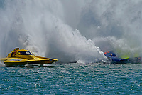 """Frame 32: Andrew Tate, H-300 """"Pennzoil"""", Donny Allen, H-14 """"Legacy 1""""       (H350 Hydro)"""