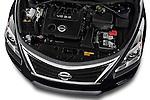 High angle engine detail of a  .2013 Nissan Altima SL