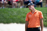 4th June 2021; Dublin, Ohio, USA;  Viktor Hovland (NOR) reacts to his putt on the 18th hole during the second round of the Memorial Tournament at Muirfield Village Golf Club in Dublin, Ohio on June 04, 2021.