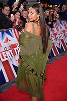 Alesha Dixon<br /> arrives for the Britain's Got Talent 2018 auditions, Palladium Theatre, London<br /> <br /> <br /> ©Ash Knotek  D3373  28/01/2018