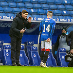 26.12.2020 Rangers v Hibs: Steven Gerrard issues instructions to Ryan Kent