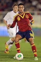 Spain's Thiago Alcantara during international sub21 match.March 21,2013. (ALTERPHOTOS/Acero) /NortePhoto