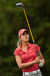 TAOYUAN, TAIWAN - OCTOBER 28:  Michelle Wie of USA tees off on the 15th hole during the day four of the Sunrise LPGA Taiwan Championship at the Sunrise Golf Course on October 28, 2012 in Taoyuan, Taiwan.  Photo by Victor Fraile / The Power of Sport Images