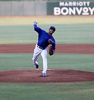 Johzan Oquendo - 2021 Arizona League Cubs (Bill Mitchell)