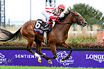November 2, 2018: Newspaperofrecord #6, ridden by Irad Ortiz, Jr., wins the Juvenile Fillies Turf on Breeders' Cup World Championship Friday at Churchill Downs on November 2, 2018 in Louisville, Kentucky. Jessica Morgan/Eclipse Sportswire/CSM
