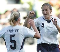 Nov 2, 2006: Suwon, South Korea:  Lindsey Tarpley, Cat Whitehill