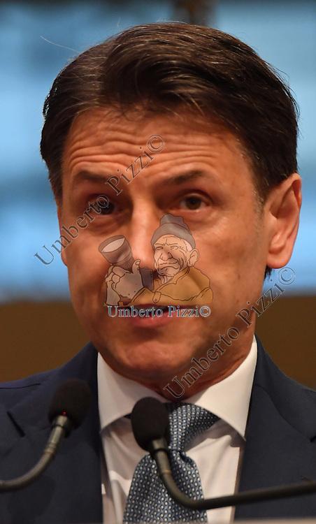 GIUSEPPE CONTE<br /> CONFERENZA STAMPA - CRISI MOVIMENTO 5 STELLE<br /> CAMERA DI COMMERCIO ROMA  - 28/06/2021
