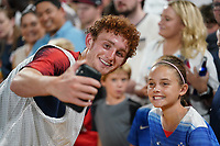 St. Louis, MO - SEPTEMBER 10: Josh Sargent #19 of the United States after their game versus Uruguay at Busch Stadium, on September 10, 2019 in St. Louis, MO.