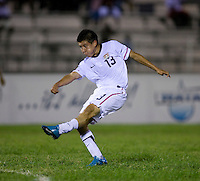 Dillon Serna. The United States defeated Canada, 3-0, during the final game of the CONCACAF Men's Under 17 Championship at Catherine Hall Stadium in Montego Bay, Jamaica.