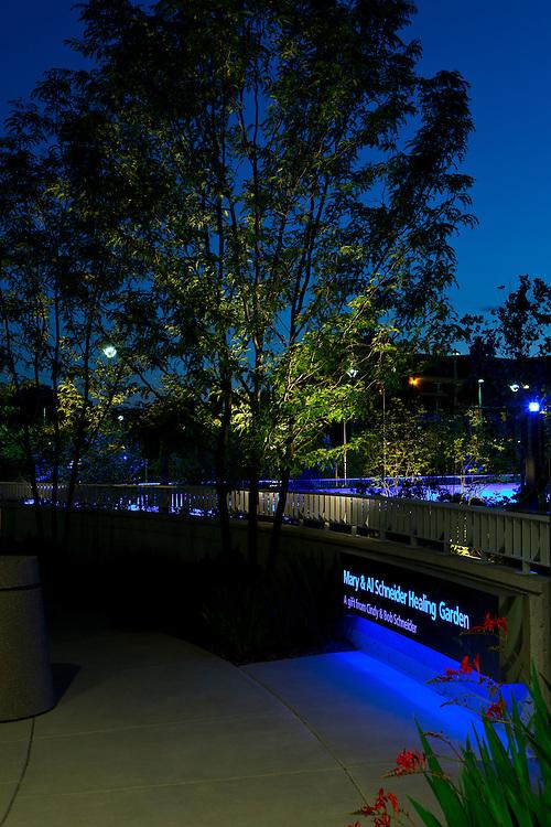 The Mary & Al Schneider Healing Garden at the Seidman Cancer Center | Landscape Architects: Visionscapes Landscape Architects