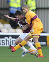 31/10/2009  Copyright  Pic : James Stewart.sct_jspa07_motherwell_v_hearts  . :: IAN BLACK AND GILES COKE CHALLENGE :: .James Stewart Photography 19 Carronlea Drive, Falkirk. FK2 8DN      Vat Reg No. 607 6932 25.Telephone      : +44 (0)1324 570291 .Mobile              : +44 (0)7721 416997.E-mail  :  jim@jspa.co.uk.If you require further information then contact Jim Stewart on any of the numbers above.........