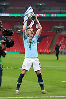 Oleksandr Zinchenko of Manchester City with the trophy at the end of the Carabao Cup Final match between Chelsea and Manchester City at Stamford Bridge on February 24th 2019 in London, England. (Photo by Paul Chesterton/phcimages.com)<br /> Foto PHC Images / Insidefoto <br /> ITALY ONLY