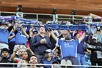 SAN JOSE, CA - JULY 24: Fans before a game between Houston Dynamo and San Jose Earthquakes at PayPal Park on July 24, 2021 in San Jose, California.
