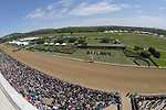 HOT SPRINGS, AR - APRIL 14: Crowd of 64,000 was on hand for the Arkansas Derby at Oaklawn Park on April 14, 2018 in Hot Springs, Arkansas. (Photo by Justin Manning/Eclipse Sportswire/Getty Images)