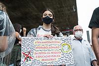 SÂO PAULO, SP, 29.05.2021 - PROTESTO-SP Movimentação durante protesto contra o presidente brasileiro Jair Bolsonaro na Av Paulista neste sábado, 29. (Foto: Andre Ribeiro/Brazil Photo Press)