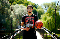 Dereck Lively II poses for a portrait at Talleyrand Park on Monday June 14, 2021 in Bellefonte, Ohio. (Photo by Jared Wickerham/For The New York Times)