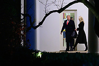JAN 04 President Donald Trump En Route To Dalton, Georgia