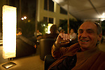 Dr. Peter  Baenninger President Davidoff USA.....Art Basel invades Miami every year in December. This is it's fifth year in South Florida. Galleries from all around the world come to Miami to show their latest works. Over $100 million worth of art was sold during the week of December 7-10.