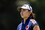 Hana Wakimoto of Japan during the first round of the EFG Hong Kong Ladies Open at the Hong Kong Golf Club Old Course on May 11, 2018 in Hong Kong. Photo by Marcio Rodrigo Machado / Power Sport Images