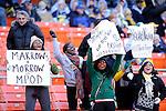 Washington- December 28: Fan cheer during the Military Bowl at RFK Stadium on December 11, 2011 in Washington, DC.  (Ryan Lasek / Eclipse Sportswire)