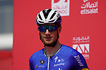 Sam Bennett (IRL) Deceuninck-Quick Step at sign on before the start of Stage 6 of the 2021 UAE Tour running 165km from Deira Island to Palm Jumeirah, Dubai, UAE. 26th February 2021.  <br /> Picture: Eoin Clarke   Cyclefile<br /> <br /> All photos usage must carry mandatory copyright credit (© Cyclefile   Eoin Clarke)