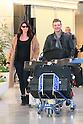 Nick Carter arrives in Japan