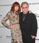 Florence Welch and Elton John at the 19th Annual Elton John AIDS Foundation Academy Awards Viewing Party held at The Pacific Design Center Outdoor Plaza in West Hollywood, California on August 27,2011                                                                               © 2011 DVS / Hollywood Press Agency
