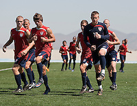 U17 Men's National Team training. 2009 CONCACAF Under-17 Championship From April 21-May 2 in Tijuana, Mexico