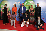 Mara Guil (L), Silvia Alonso, director Alvaro Diaz Lorenzo, Maria Leon, Jose Guirao, Salva Reina, Andres Velencoso and Bore Buika attend La Lista De Los Deseos photocall on July 02 in Madrid, Spain.(ALTERPHOTOS/ItahisaHernandez)