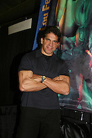 Lou Ferrigno appears at Big Apple Comic Con for autographs and photos on October 16 (and 17 & 18), 2009 at Pier 94, New York City, New York. (Photo by Sue Coflin/Max Photos)