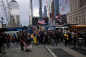 """New York, New York<br /> November 15, 2011<br /> <br /> After the police clear Zuccotti Park many of the evicted """"Occupy Wall Street"""" protesters, reconvened in Foley Square.<br /> <br /> From there a group marched to  Juan Pablo Duarte Square at Canal and 6th Ave and final back to Zuccotti Park to wait a court order to reenter the park."""