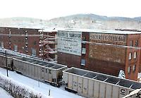Winter at the Nocross building in Charlottesville, VA.