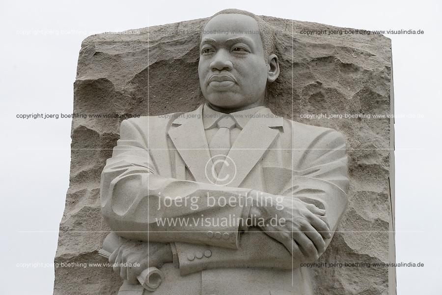 USA, Washington, National Mall, Martin Luther King Junior 1929-1968, Memorial