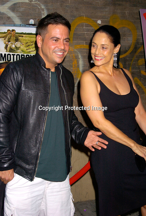 Narciso Rodriguez and Sonia Braga ..at the New York Premiere of Motorcycle Diaries on September 20, 2004 at the Loews 19th Street Theatre. ..Photo by Robin Platzer, Twin Images