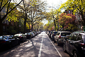 April 21, 2020<br /> New York, New York<br /> Park Slope<br /> <br /> Empty streets in Park Slope during the height of the coronavirus pandemic.