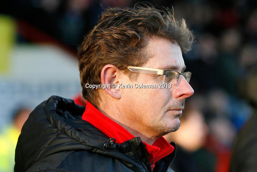 Stourbridge manager Gary Hackett<br />  - Stevenage v Stourbridge - FA Cup Round 2 - Lamex Stadium, Stevenage - 7th December, 2013<br />  © Kevin Coleman 2013