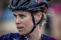 Tiffany Cromwell (AUS/Canyon Sram Racing) post race<br /> <br /> Inaugral Paris-Roubaix Femmes 2021 (1.WWT)<br /> One day race from Denain to Roubaix (FRA) (116.4km)<br /> <br /> ©kramon
