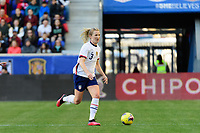 HARRISON, NJ - MARCH 08: Samantha Mewis #3 of the United States during a game between Spain and USWNT at Red Bull Arena on March 08, 2020 in Harrison, New Jersey.